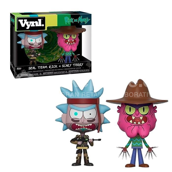 Figura Vinyl Rick Scary Terry - Rick & Morty