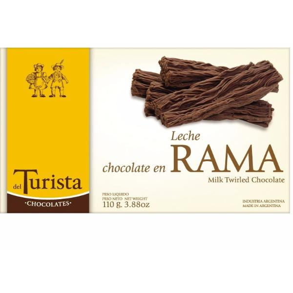 Chocolate Rama Leche 110 grs.
