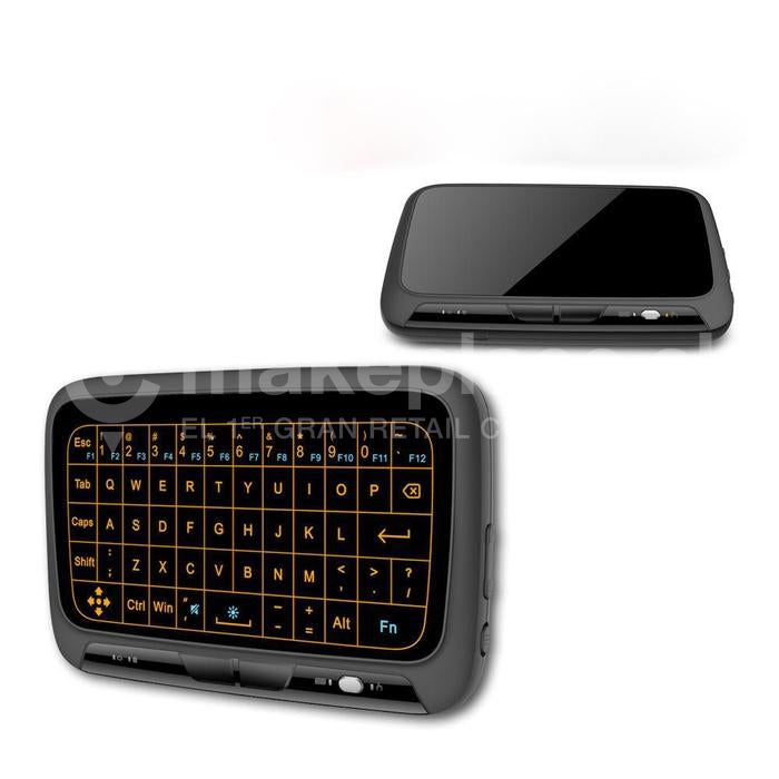 Mini Teclado Touch Air Mouse H18+ Tv Box 2.4g