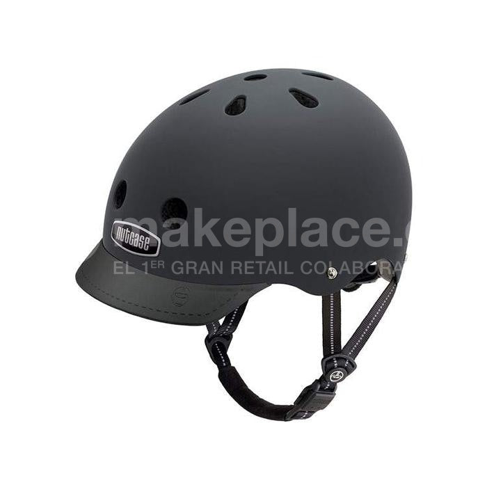 Casco Bicicleta Nutcase Blackish Street L