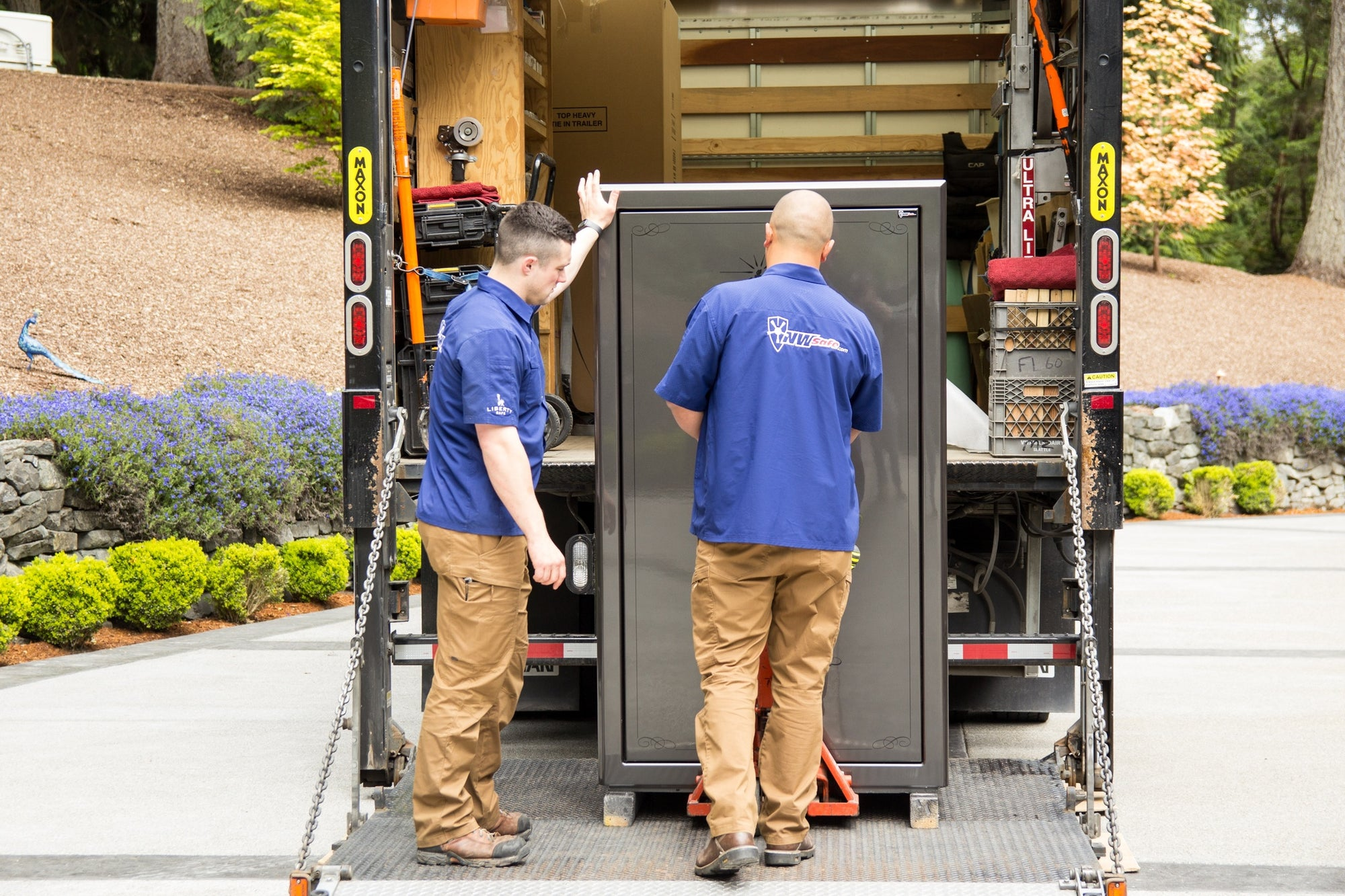 Why You Should Have a Professional Mover Install Your Safe