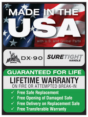 Made-in-the-USA-Liberty-Safe-Warranty-DX-90-Sticker