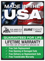 Made-in-the-USA-Liberty-Safe-Warranty-GX-480-Sticker