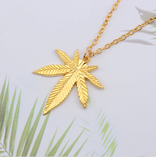 Tree Leaf Necklace