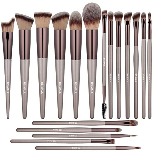 BS-MALL Makeup Brush Set 18 Pcs