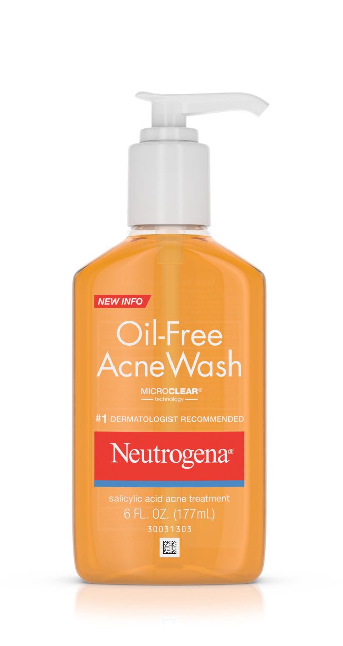 Oil Free Acne Wash 6.oz