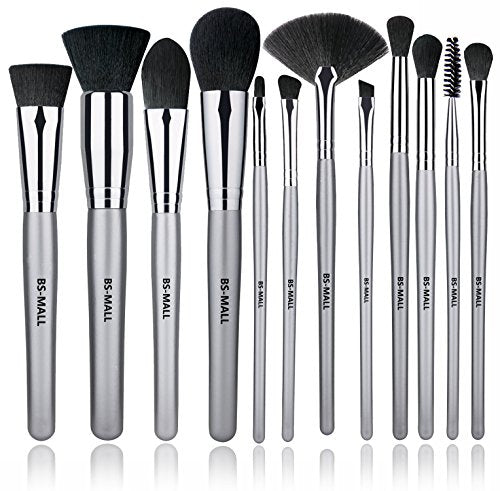 12 Piece Silver Brush Set