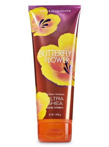 Butterfly Flower Ultra shea Body Cream 8oz / 226g