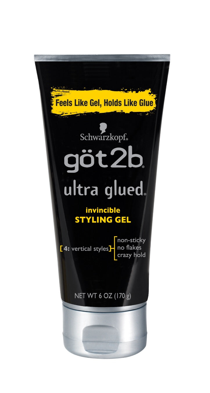 Got2b Ultra Glued Invincible Styling Hair Gel 6.oz