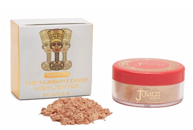 The Nubian Loose Highlighter - Nefertiti (buttery gold champagne shimmer)