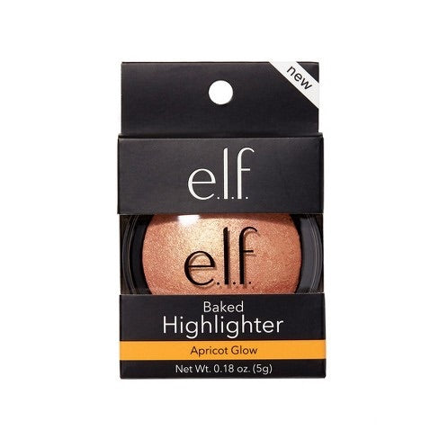 Baked Highlighter Apricot Glow