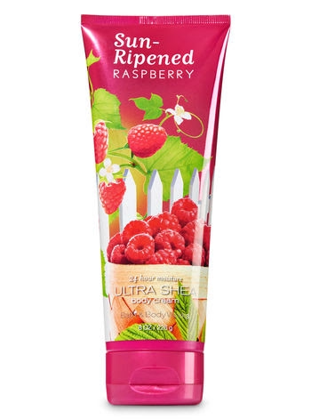 Sun-Ripened Raspberry Ultra Shea Body Cream 8oz / 226g