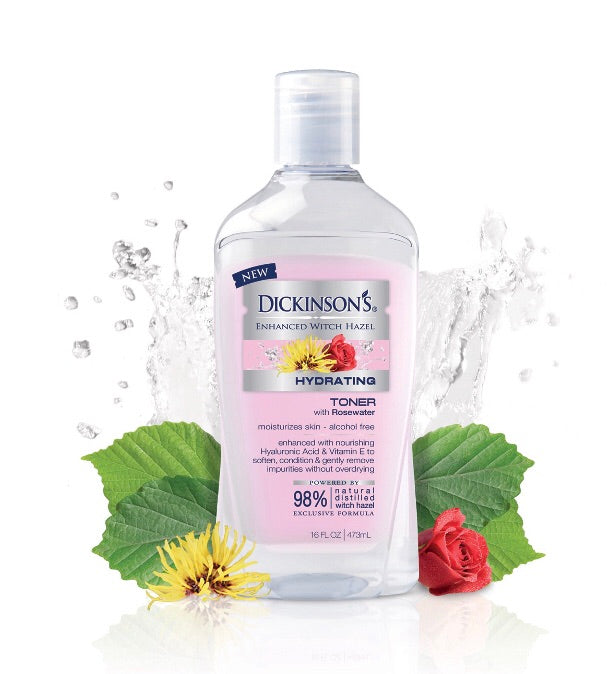 Enhanced Witch Hazel Hydrating Toner with Rosewater