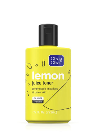 Clean & Clear Alcohol free Lemon Juice Facial Toner 7.5fl oz