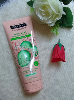 Rejuvenating Cucumber + Pink Salt Clay Mask