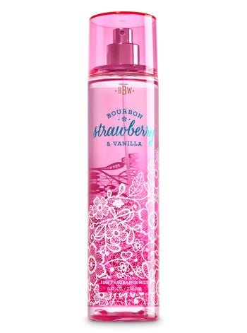 Bourbon Strawberry & Vanilla Fine Fragrance Mist 8oz / 236ml
