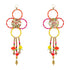 Colourful Gota Ring Shubh Labh Pair