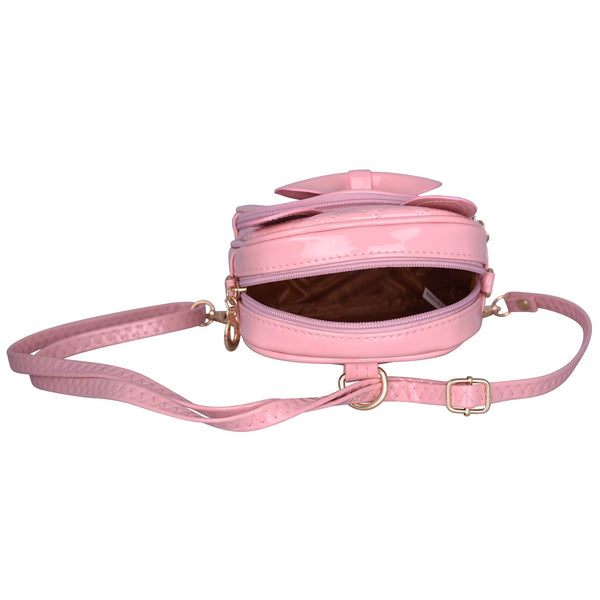 Pink Fancy Bow Backpack