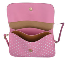 Pink Fancy Bow Polka Dot Sling Bag