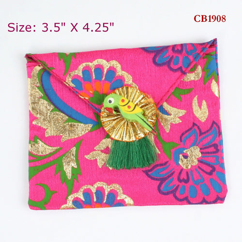 Colourful Fabric Coin Bag