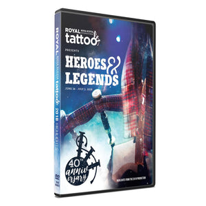 2018 Tattoo DVD - BOGO!