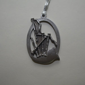 Tattoo Bagpipe Ornament