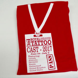 2017 Tattoo Cast T-Shirt