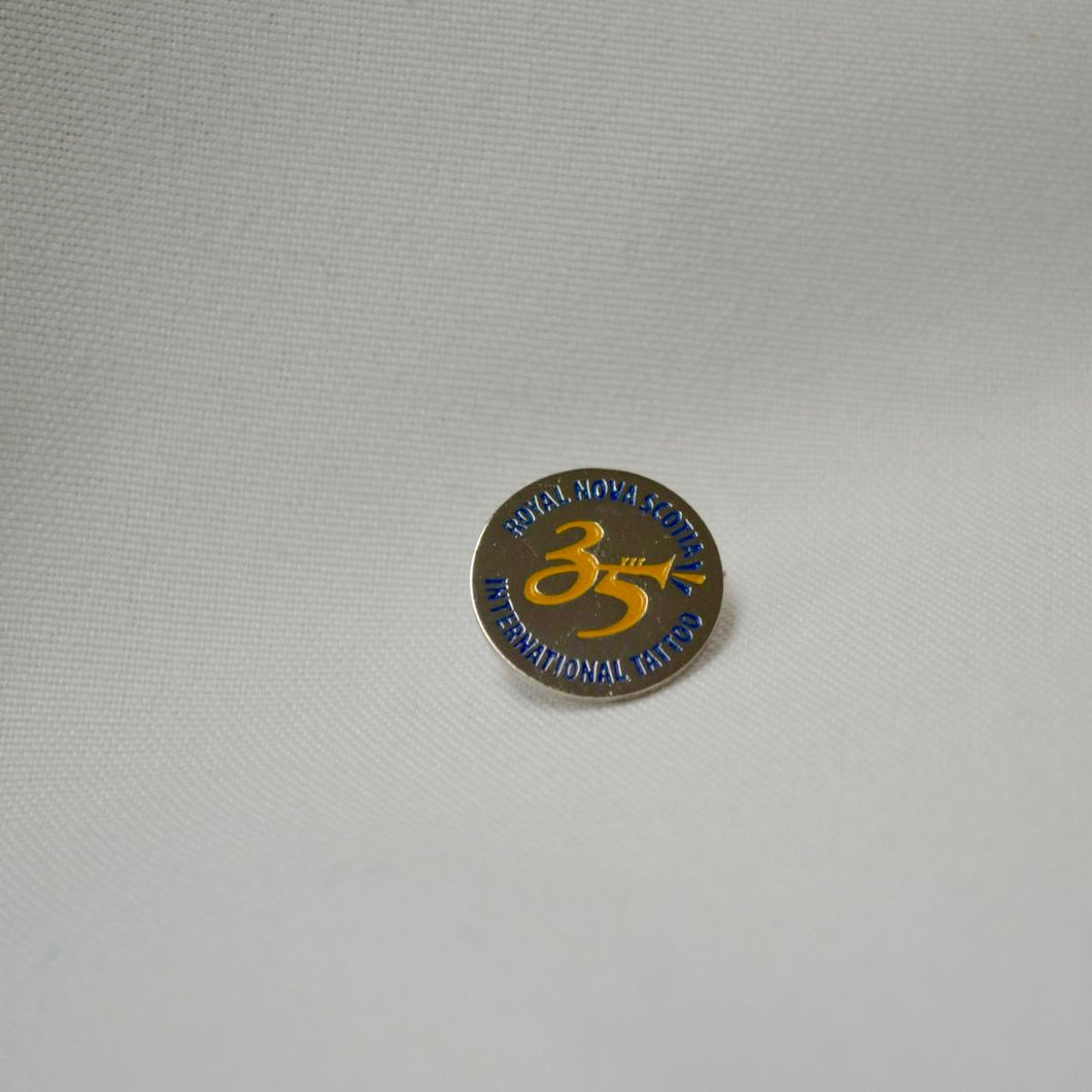 35th Anniversary Lapel Pin