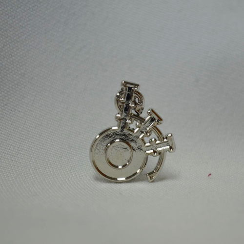 Tattoo Bagpipe Lapel Pin