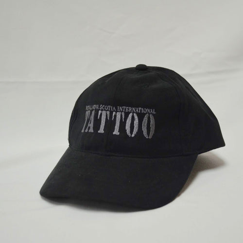 Black Faux Suede Ball Cap