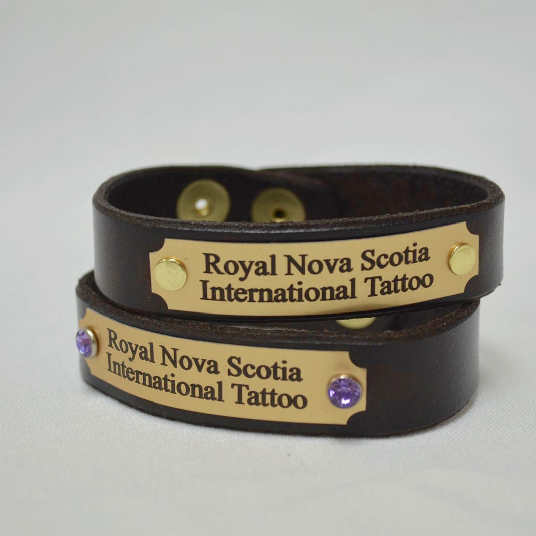 Tattoo Leather Bracelet