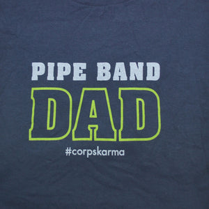Pipe Band Dad Tee