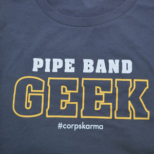 Pipe Band Geek Tee