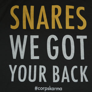 Snares: We Got Your Back Tee