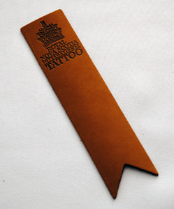Tattoo Leather Bookmark