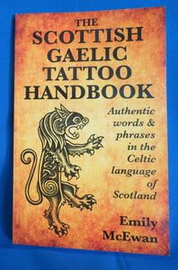 Scottish Gaelic Tattoo Handbook
