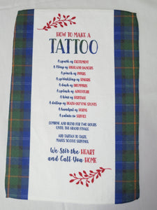 Tattoo Tea Towel
