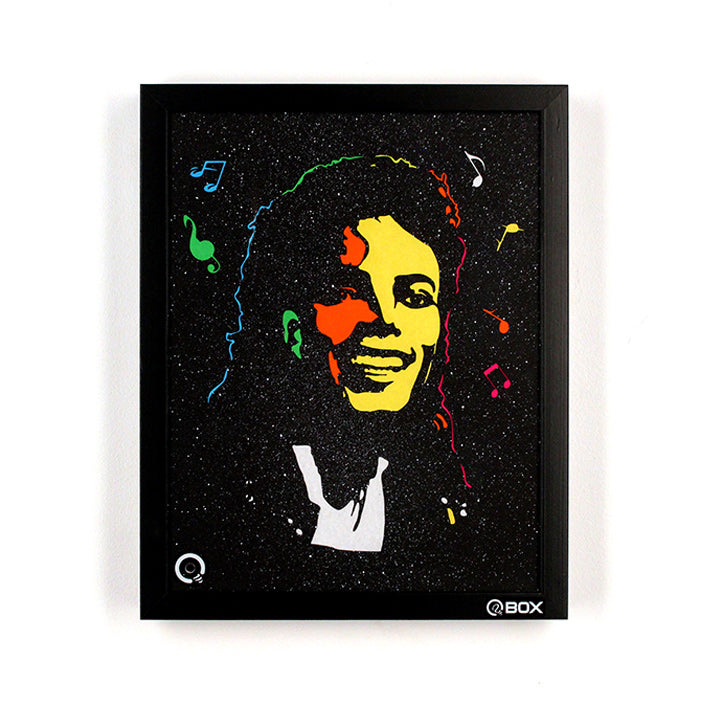 Michael Jackson Light Art QBox-QBox Store