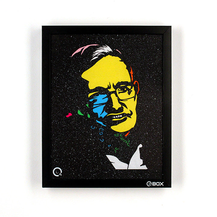 Stephen Hawking Light Art QBox-QBox Store