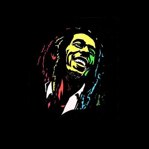 Bob Marley Light Art QBox-QBox Store