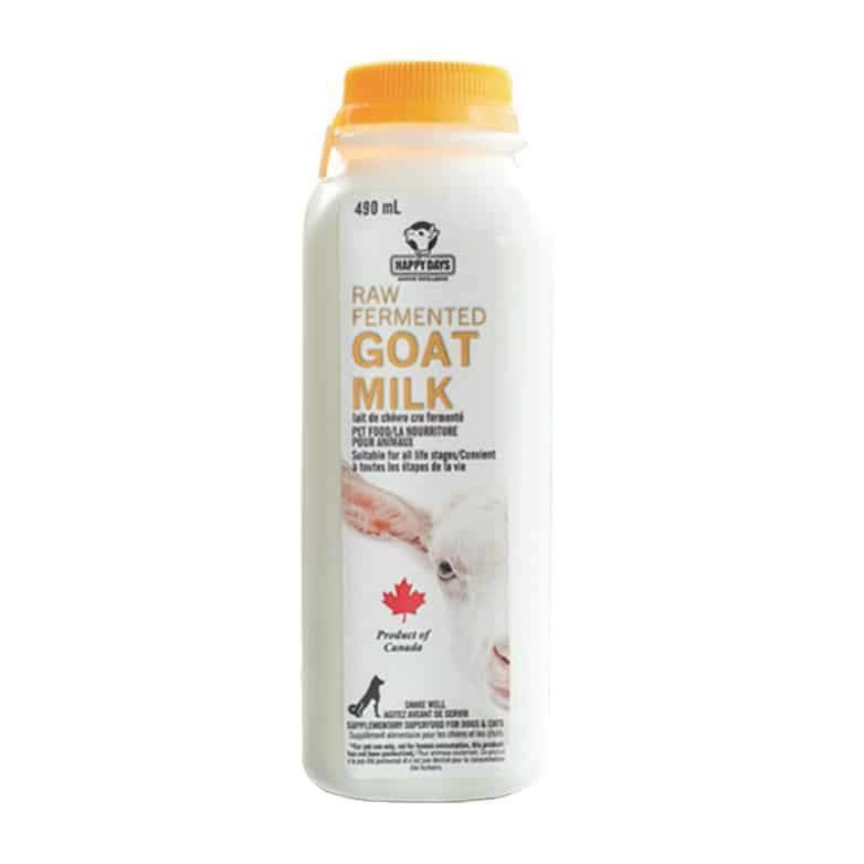 Raw Fermented Goats Milk