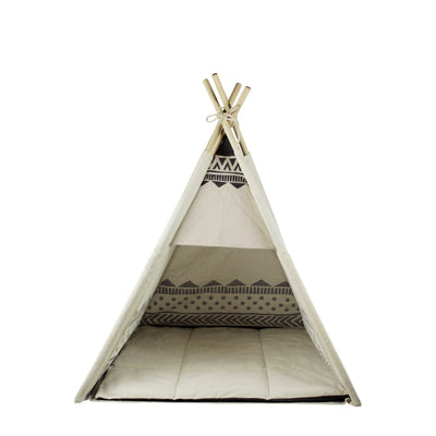 Aztec Dog Teepee Bed