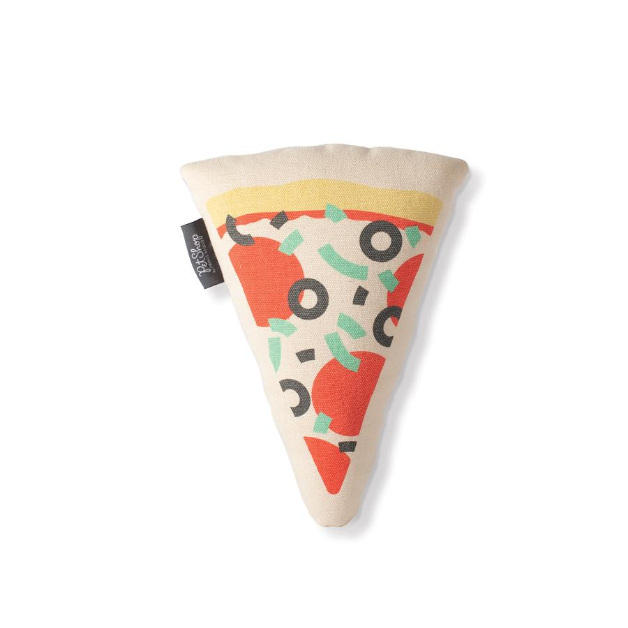 Pizza Slice Canvas Plush Toy