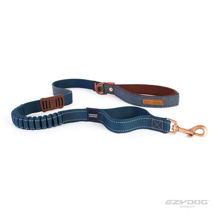 Friday Collective Denim Zero Shock Leash