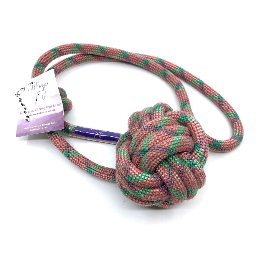 Mountain Rope Ball Tug Toy