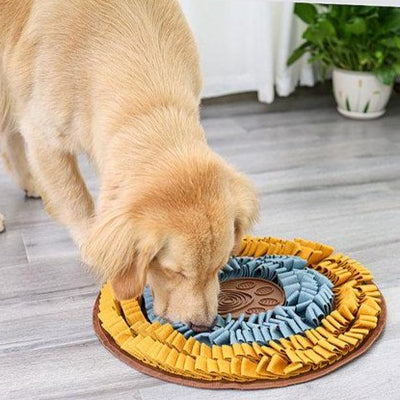 Disc Anti-Bite Snuffle Mat with Lick Mat