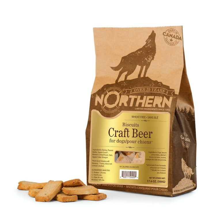 Craft Beer Dog Biscuits