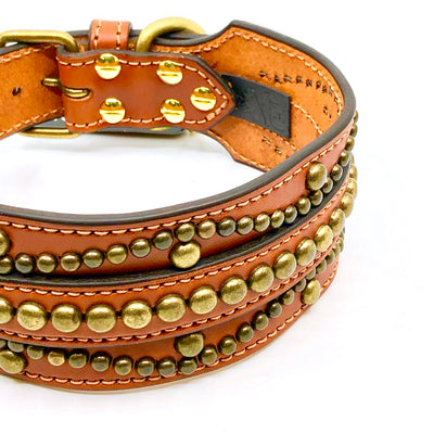 Leather Versace Collar