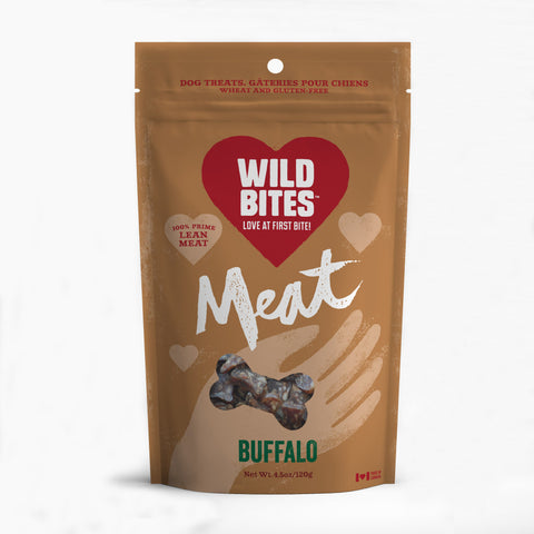 Wild Bites Buffalo treats - 120g