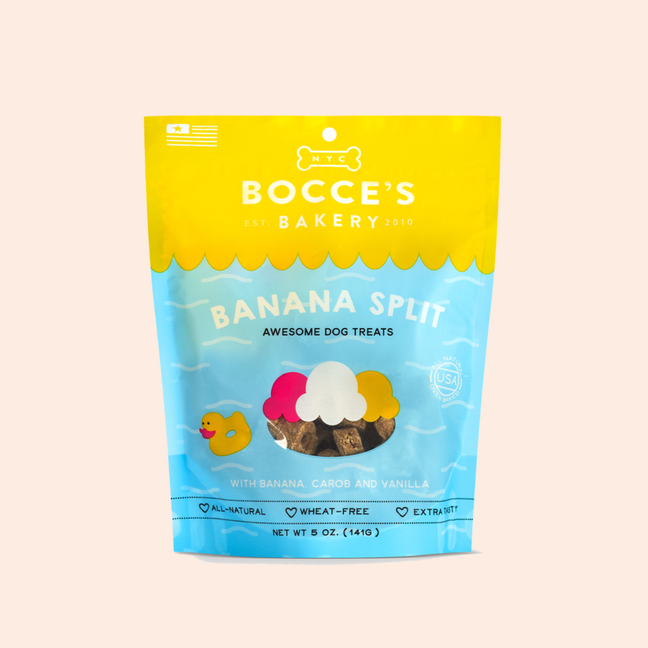 Banana Split Awesome Dog Treats